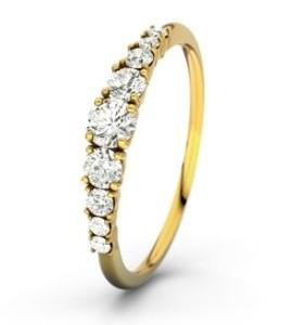 Ring mit Seitensteinen