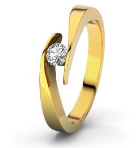 Verlobungssring Gelbgold